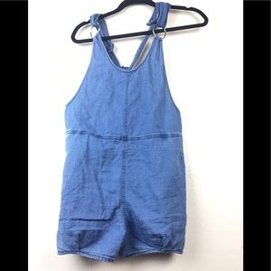 BDG shorts overall side zipper size medium